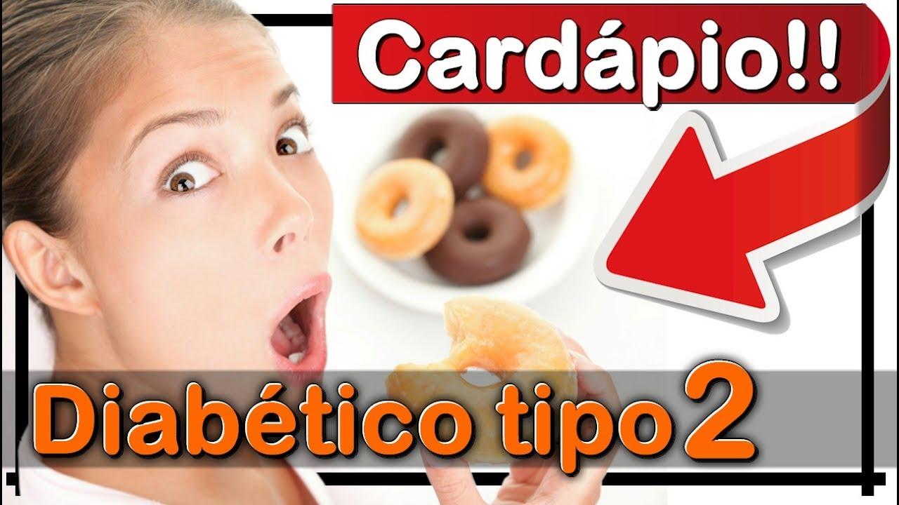 dieta diabetes tipo 2 cardapio da