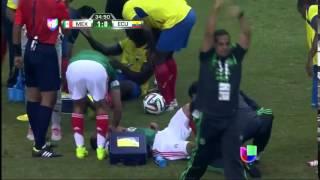 Luis Montes Scores Spectacular Goal Immediately Suffers Horrific Injury