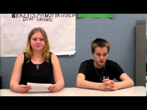 Sample Newscast for School Project