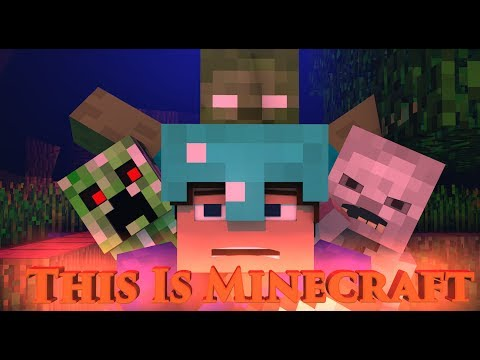 "♪""This Is Minecraft"" - Minecraft Parody Of Firework By Katy Perry (Minecraft Animation)"