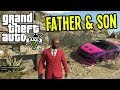 Father & Son CRAZY ADVENTURES in GTA 5 - Part 3 (GTA V Co-op Gameplay)