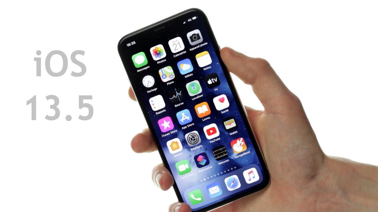 iOS 13.5 : Les nouveautés