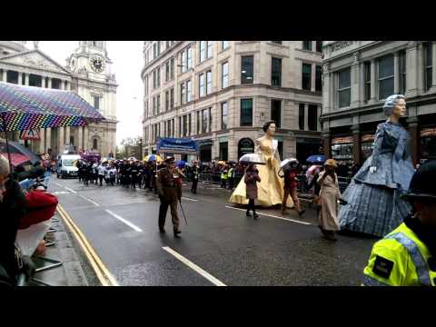 The Stationers' Company Float at the Lord Mayor's Show Day 2015