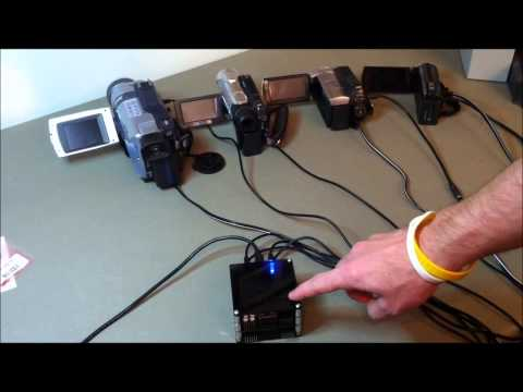 Control Multiple Camcorders Simultaneously