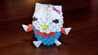 Модульное оригами хелло китти(Модульное оригами хелло китти пошаговое изготовление (мастер класс) для начинающих http://bringingsuccess.ru/origami.php..., 2015-02-08T10:37:34.000Z)
