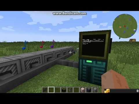 Minecraft NBS Music player for OpenComputers