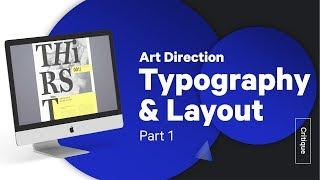 Graphic Design Tutorial: Typography Design & Art Direction pt. 1