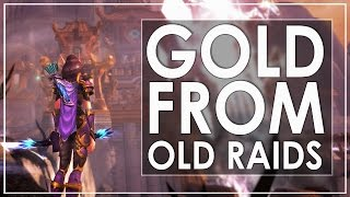 The State of Old Raid Gold Farming In Legion - Blizz Buffed MoP!