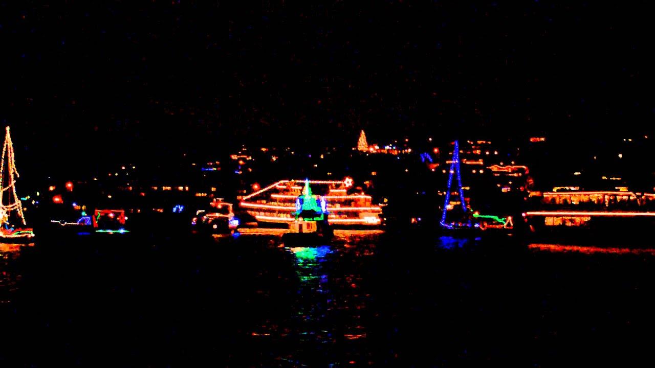 seattle christmas ships caroling on the boats