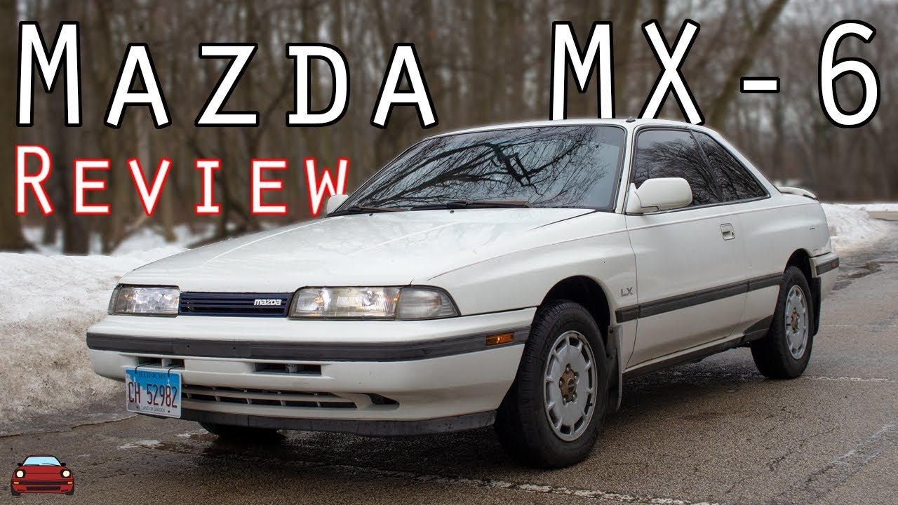 Download 1989 Mazda MX-6 Review - Sportier Than A 626!