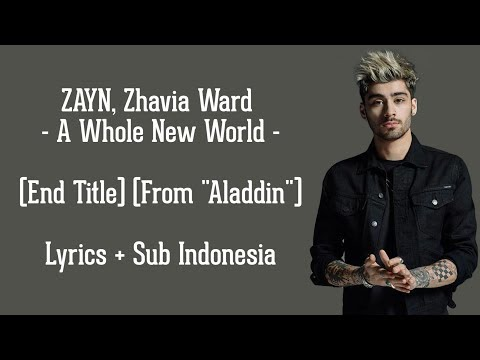 A Whole New World (End Title) | Lyrics dan terjemahan