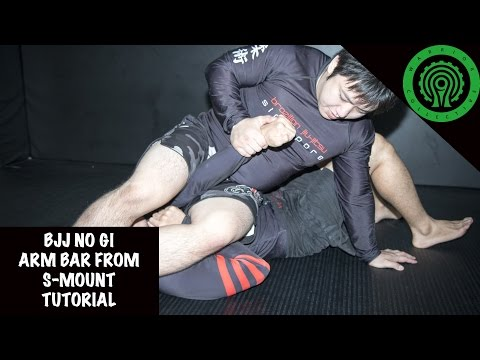BJJ No Gi Arm Bar from S-Mount Tutorial