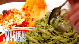 Gordon Ramsay Can't Handle Being Served Disgusting Food | Kitchen Nightmares