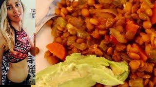 Easy, Healthy, Cheap Vegan Lentil Crockpot Recipe   What's for Dinner🍴