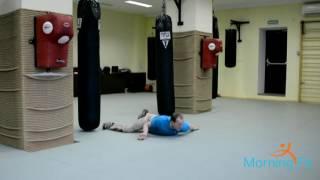 MorningFit Нижняя акробатика Скручивание тела