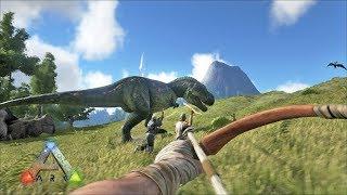Sobrevivendo na Ilha dos Dinossauros — Ark Ragnarok