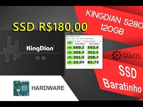 🔺 SSD Very Cheap and Fast !!! KingDian S280 Solid State Drive - Comparison with Samsung EVO !!!