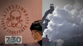 The Italian town where the air is deadly   7.30
