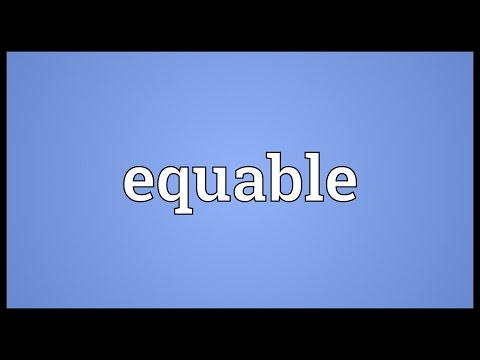 Header of equable