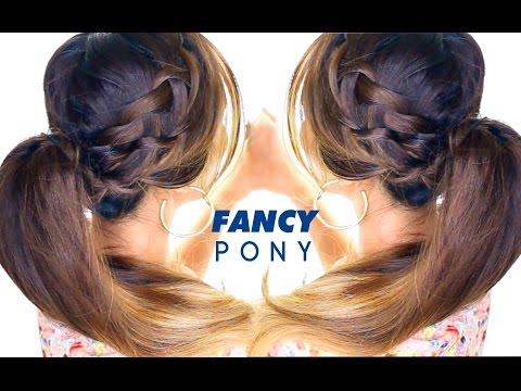 Awesome French Braid Ponytail Hairstyle