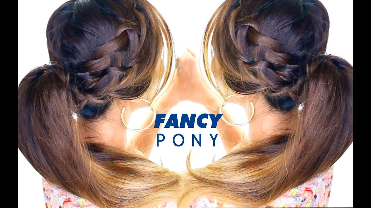 ... Ponytail Hairstyle ★ Braid Hairstyles | Hair Tutorial - YouTube