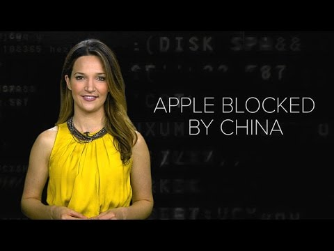 Apple blocked by China's Great Firewall