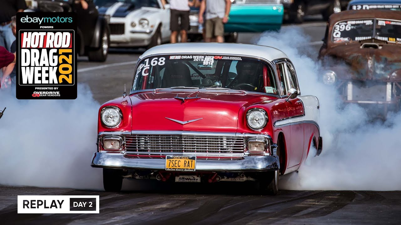 Download Day 2 - HOT ROD Drag Week 2021 Livestream REPLAY