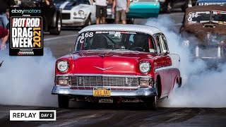 homepage tile video photo for Day 2 - HOT ROD Drag Week 2021 Livestream REPLAY