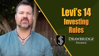 Levi's Personal Investing Rules Overview