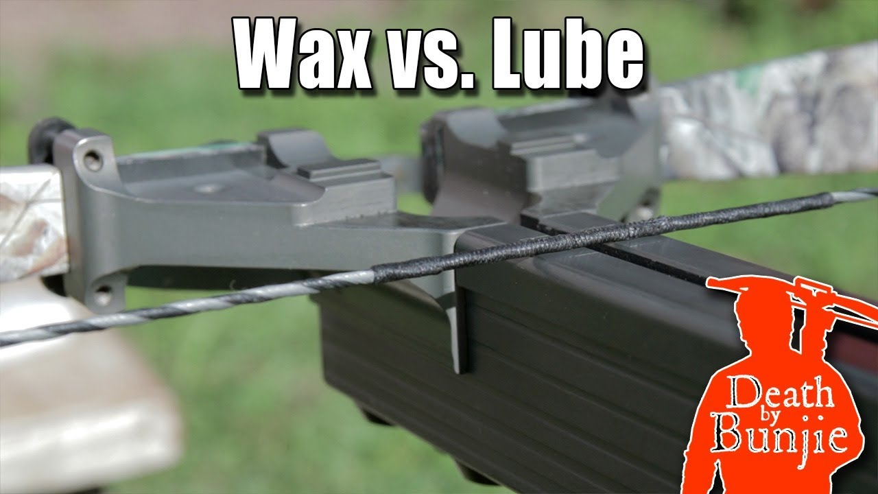 Difference Between String Wax and Rail Lube (for CROSSBOWS!)