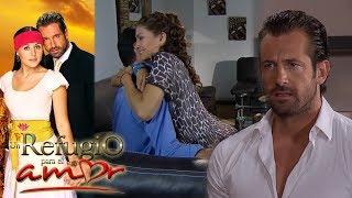 Resumen: ¡Rodrigo se entera que su padre tiene una amante! | Un refugio para el amor - Tlnovelas