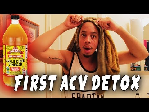 MY FIRST ACV DREADLOCKS RINSE! CLEAN LOCS IN MINUTES! COMPLETELY SHOCKING RESULTS…