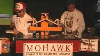 2009 Popsicle Stick Bridge Winner At Mohawk College