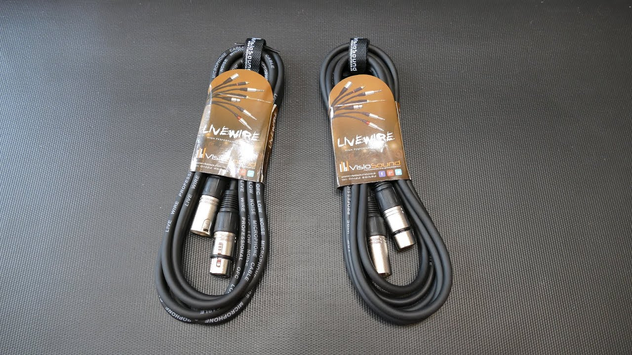 VisioSound XLR-Microphone Patch Cable (Vorstellung) - YouTube