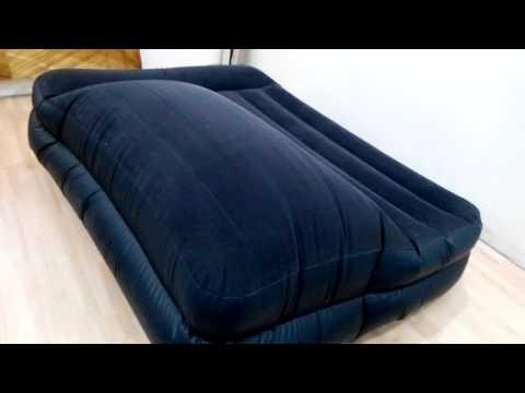 Что стало с надувной кроватью Intex после 8 месяцев использования