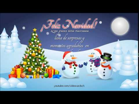 Felicitaciones de navidad animadas felicitaciones - Dibujos tarjetas navidenas ...
