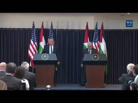 Trump and Abbas meet in Bethlehem