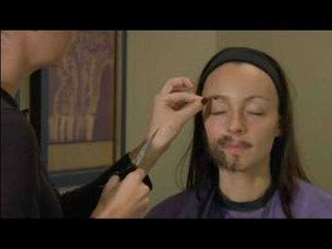 How to Apply Fake Facial Hair : How to Apply Fake Eyebrows ...