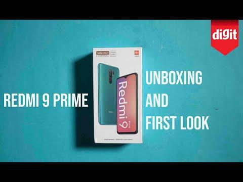 Xiaomi Redmi 9 Prime Unboxing & First Look
