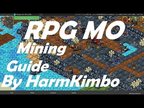 Mining guide RPG MO 2016 -  Best Method
