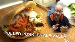 Pulled Pork Pitaleivällä