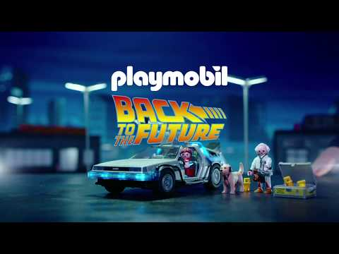 Video: PLAYMOBIL 70317 Back to the Future DeLorean - Smyths Toys Superstores DE