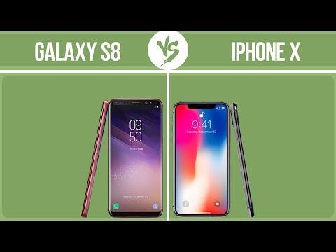Samsung Galaxy S8 Vs Apple IPhone X ✔️