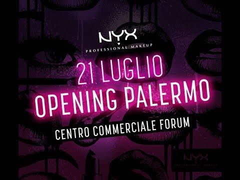 NYX COSMETICS OPENING PALERMO - Evento & Quante Sorpreseee ♥