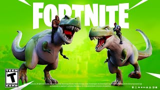 NEW FORTNITE *DINOSAUR* UPDATE!