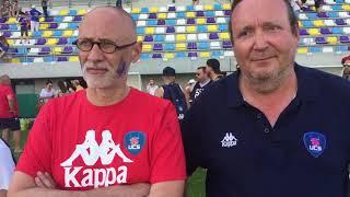 Les présidents de l'UC après la défaite contre Mâcon
