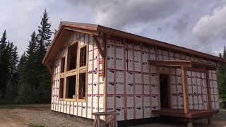 Week 5: Covered Deck, Foam Envelope  Simple House Build