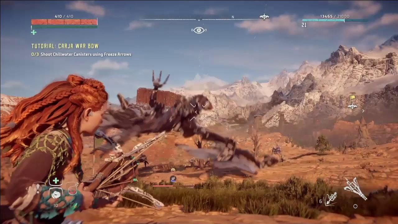 Horizon Zero Dawn - Stormbird Glitch