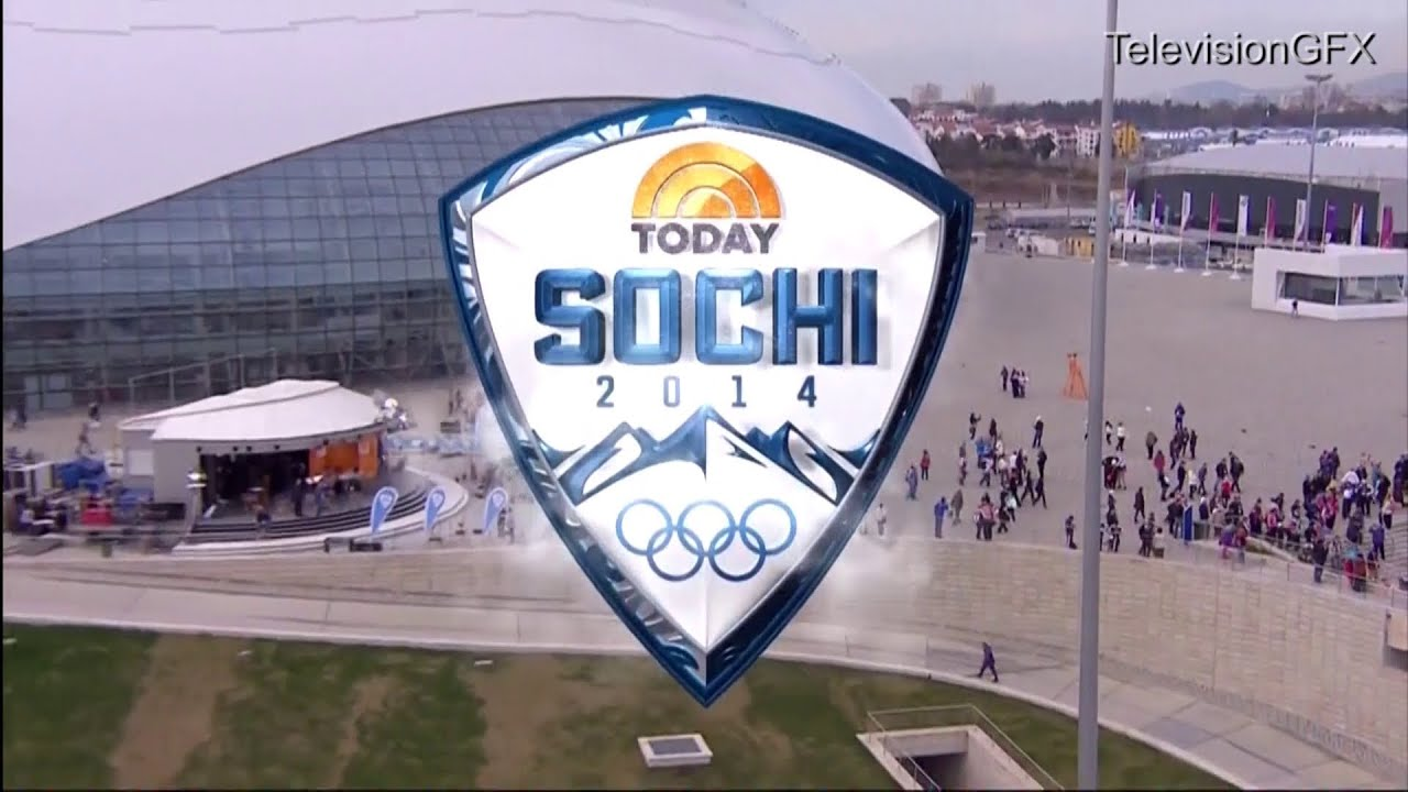 NBC Today Show Sochi Olympics Open - YouTube