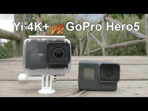 Yi 4K+ vs GoPro Hero 5 Black